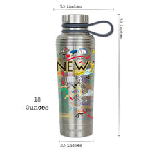 Load image into Gallery viewer, New York City Thermal Bottle - Stainless Steel - catstudio