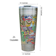 Load image into Gallery viewer, New York City Thermal Tumbler (Set of 4) - PREORDER Thermal Tumbler catstudio