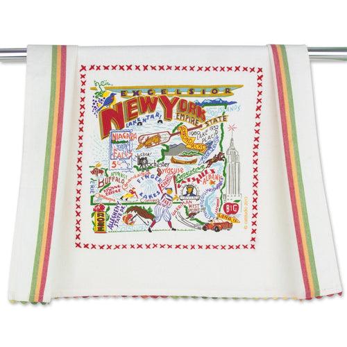 New York State Dish Towel Dish Towel catstudio