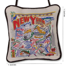 Load image into Gallery viewer, New York State Mini Pillow Mini Pillow catstudio
