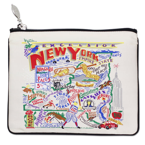 New York State Pouch Natural Pouch catstudio