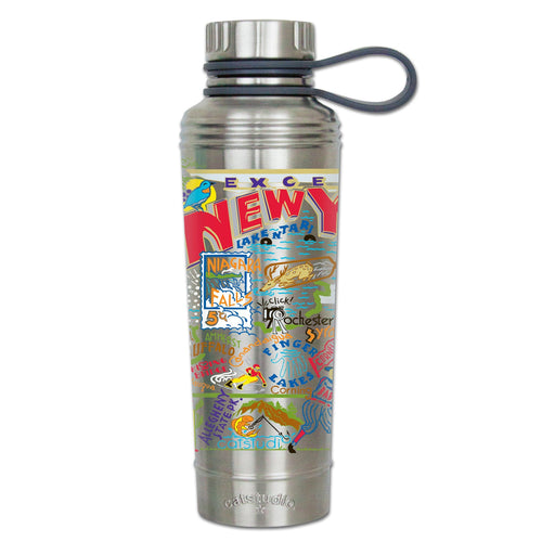 New York State Thermal Bottle Thermal Bottle catstudio