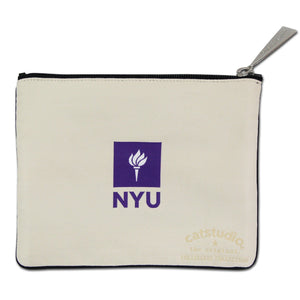 New York University (NYU) Collegiate Zip Pouch - catstudio