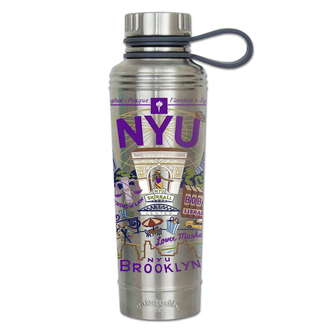 New York University (NYU) Collegiate Thermal Bottle - catstudio