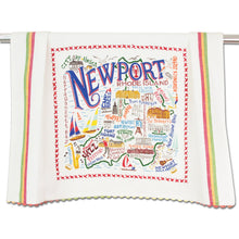 Load image into Gallery viewer, Newport Dish Towel - catstudio