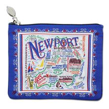 Load image into Gallery viewer, Newport Zip Pouch - Pattern Pouch catstudio
