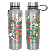 Load image into Gallery viewer, Night Before Christmas Thermal Bottle - catstudio