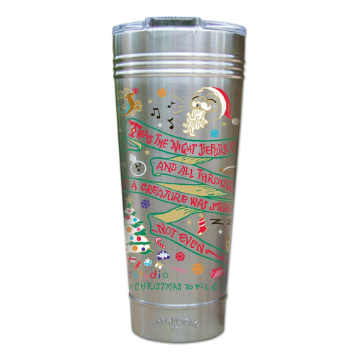 Night Before Christmas Thermal Tumbler (Set of 4) - PREORDER Thermal Tumbler catstudio