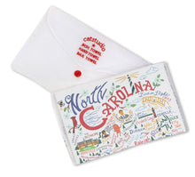 Load image into Gallery viewer, North Carolina Dish Towel - catstudio