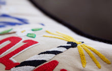 Load image into Gallery viewer, North Carolina Hand-Embroidered Pillow Pillow catstudio