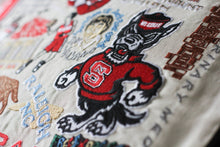Load image into Gallery viewer, North Carolina State University Collegiate Embroidered Pillow - catstudio