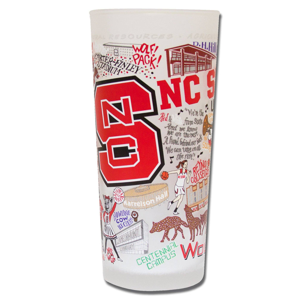 North Carolina State University Collegiate Glass Glass catstudio
