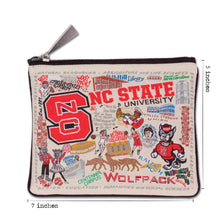 Load image into Gallery viewer, North Carolina State University Collegiate Pouch Pouch catstudio
