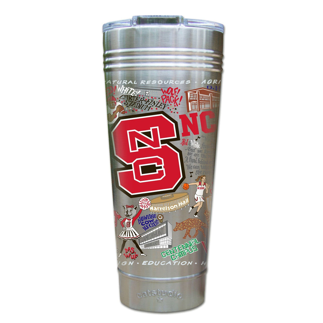 North Carolina State University Collegiate Thermal Tumbler (Set of 4) - PREORDER Thermal Tumbler catstudio