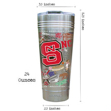 Load image into Gallery viewer, North Carolina State University Collegiate Thermal Tumbler (Set of 4) - PREORDER Thermal Tumbler catstudio