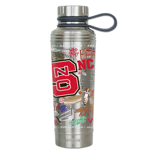 North Carolina State University Collegiate Thermal Bottle - catstudio