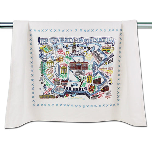 North Carolina, University of Collegiate Dish Towel Dish Towel catstudio