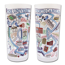 Load image into Gallery viewer, North Carolina, University of Collegiate Drinking Glass Glass catstudio