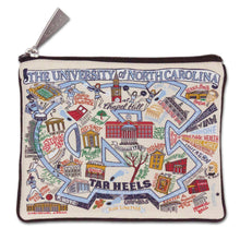 Load image into Gallery viewer, North Carolina, University of Collegiate Zip Pouch - catstudio
