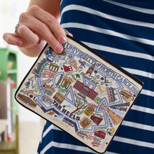 Load image into Gallery viewer, North Carolina, University of Collegiate Pouch Pouch catstudio