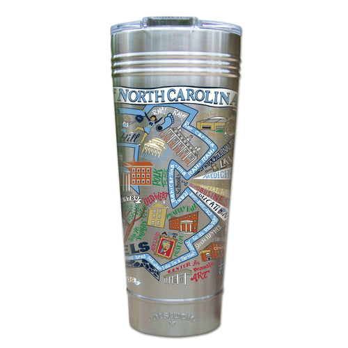 North Carolina, University of Collegiate Thermal Tumbler (Set of 4) - PREORDER Thermal Tumbler catstudio