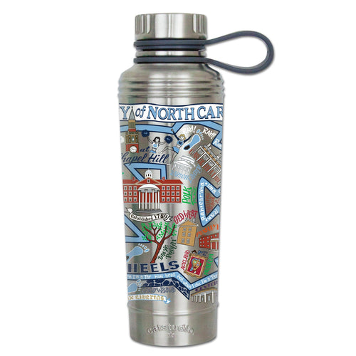 North Carolina, University of Collegiate Thermal Bottle - catstudio