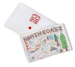 North Coast Dish Towel - catstudio