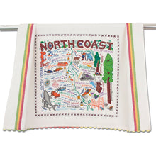 Load image into Gallery viewer, North Coast Dish Towel Dish Towel catstudio