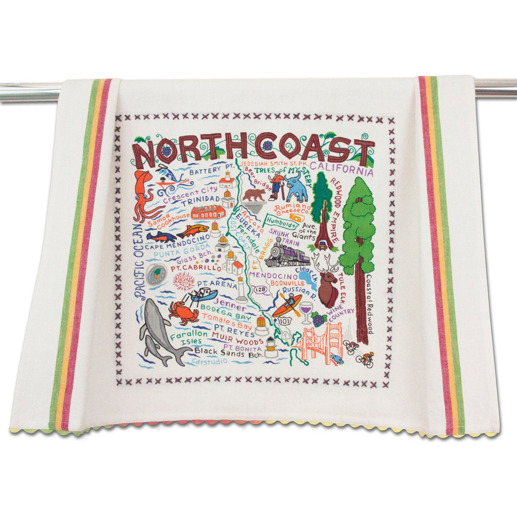 North Coast Dish Towel Dish Towel catstudio