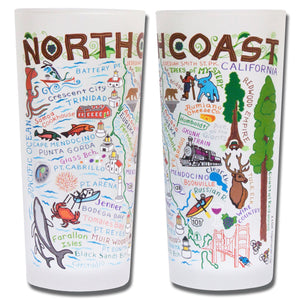 North Coast Drinking Glass - catstudio