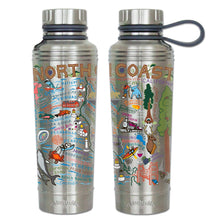 Load image into Gallery viewer, North Coast Thermal Bottle - catstudio