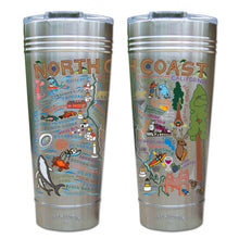 Load image into Gallery viewer, North Coast Thermal Tumbler (Set of 4) - PREORDER Thermal Tumbler catstudio