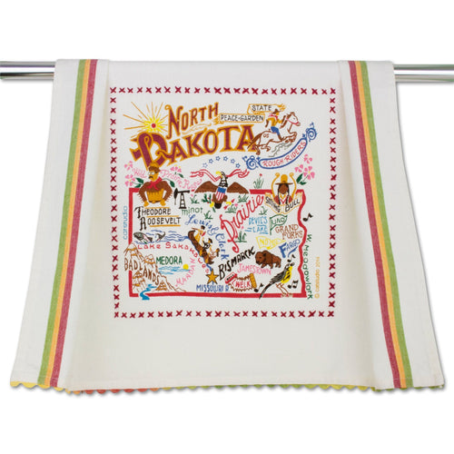 North Dakota Dish Towel - catstudio