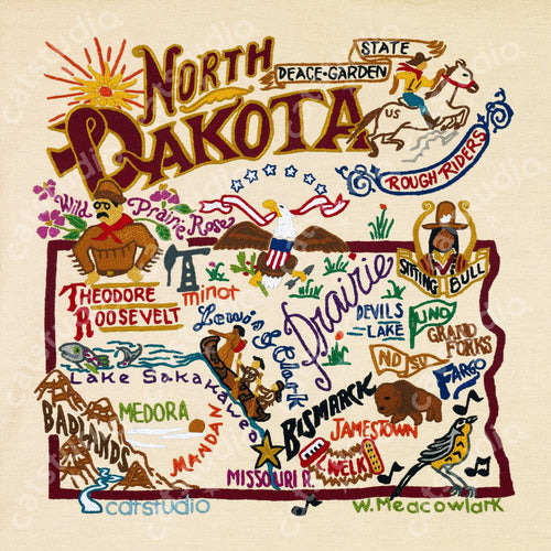 North Dakota Fine Art Print - catstudio