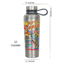 Load image into Gallery viewer, North Dakota Thermal Bottle - catstudio