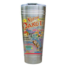 Load image into Gallery viewer, North Dakota Thermal Tumbler (Set of 4) - PREORDER Thermal Tumbler catstudio