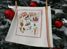 Load image into Gallery viewer, North Pole 1 Dish Towel Dish Towel catstudio