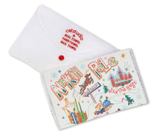 Load image into Gallery viewer, North Pole 1 Dish Towel - catstudio