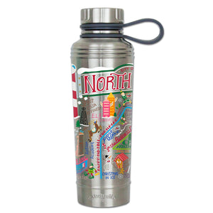 North Pole City Thermal Bottle Thermal Bottle catstudio