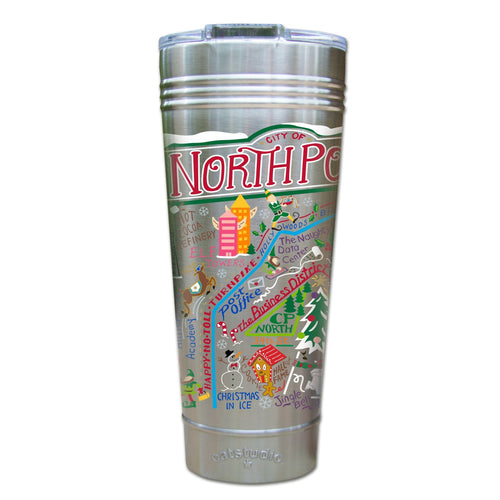 North Pole City Thermal Tumbler (Set of 4) - PREORDER Thermal Tumbler catstudio