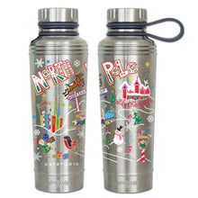 Load image into Gallery viewer, North Pole Thermal Bottle Thermal Bottle catstudio