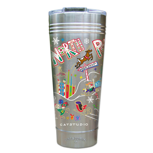 North Pole Thermal Tumbler (Set of 4) - PREORDER Thermal Tumbler catstudio