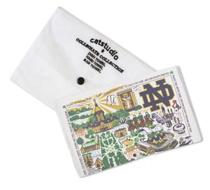 Notre Dame, University of Collegiate Dish Towel Dish Towel catstudio