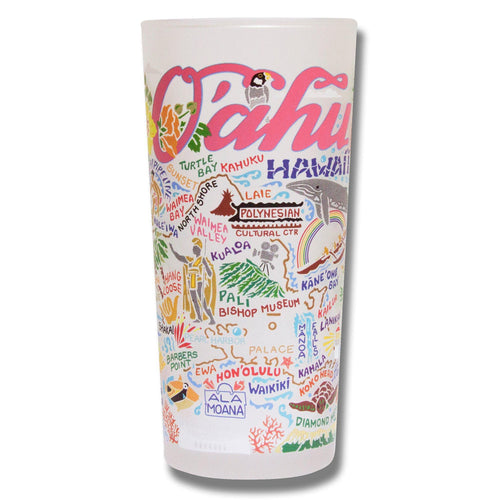 Oahu Drinking Glass - catstudio