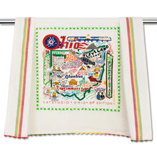 Load image into Gallery viewer, Ohio Dish Towel - catstudio