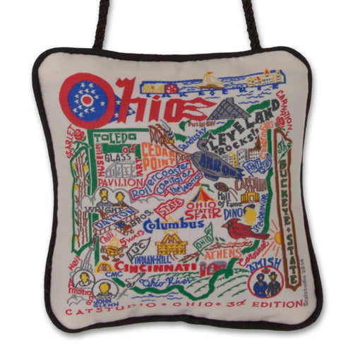 Ohio Mini Pillow Mini Pillow catstudio