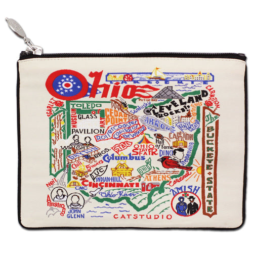 Ohio Zip Pouch - Natural - catstudio