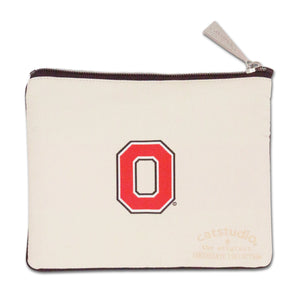 Ohio State University Collegiate Zip Pouch - catstudio