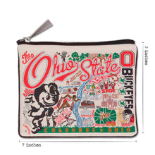 Load image into Gallery viewer, Ohio State University Collegiate Pouch Pouch catstudio