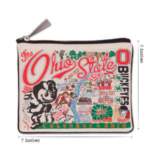 Ohio State University Collegiate Pouch Pouch catstudio
